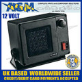 AMBER VALLEY AVFN 10/12 12volt 300W Ceramic Fan Heater