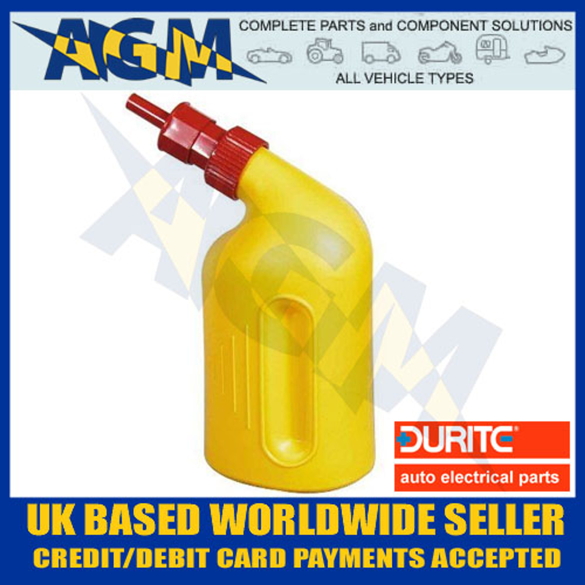 American Water Distillers Parts ~ Durite  automatic litre battery filler bottle