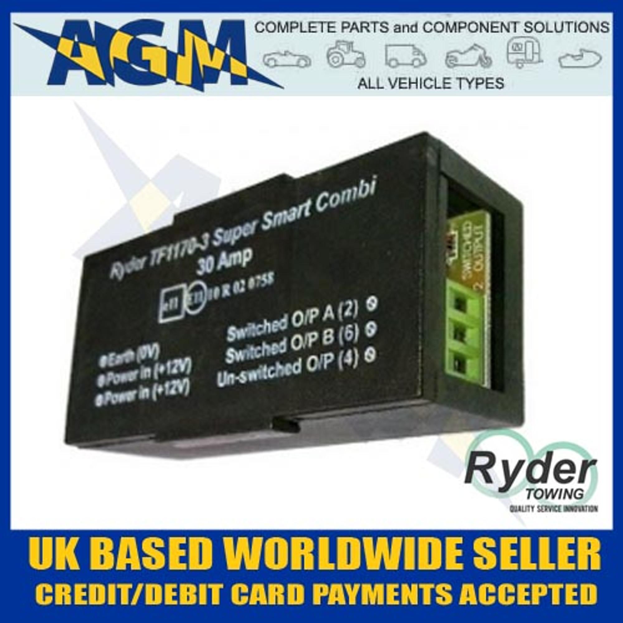 Ryder super smart combi caravan split charge towing relay 30 amp ryder tf1170 3 smart combi caravan split charge towing relay 30 amp asfbconference2016 Gallery
