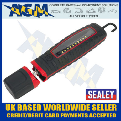 sealey, led360, led, rechargeable, hand, inspection, lamp