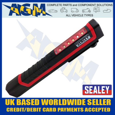 sealey,  led028, red, led, mini, pocket, inspection, light