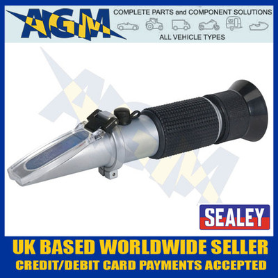 sealey, vs0052, refractometer, antifreeze, battery, fluid, screenwash