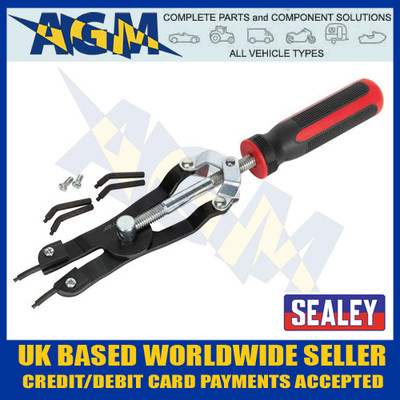sealey, ak8450, circlip, pliers, heavy, duty, professional