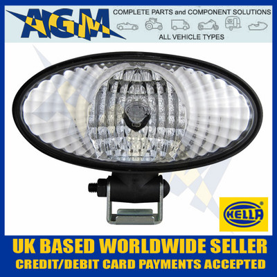 hella, oval, halogen, work, plough, search, lamp, light,  1gb996186-051, 1gb996186051