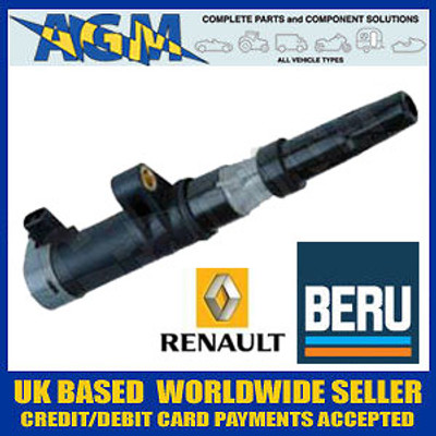 Renault 7700107177 Ignition Coil - BERU ZS052