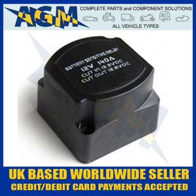 vsr, gr41, 12v, 140a, split, charge, intelligent, relay, automatic, voltage, sensing, 0-727-33, 072733