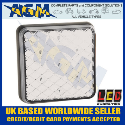 led, 81w, compact, slimline, white, reverse, reversing, light, 12v