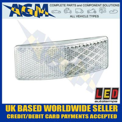 led, eu38wm, trailer, front, marker, light, lamp, clear, white, 12v, 24v
