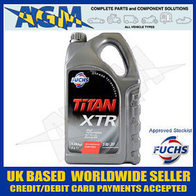 Fuchs Titan 600260590 XTR 5w/30 (FORD, etc.) Oil 5 LTR