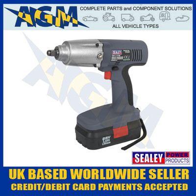 "Sealey CP2600 26v Heavy Duty Cordless 1/2"" Drive Impact Gun 450Nm 335 lb ft"