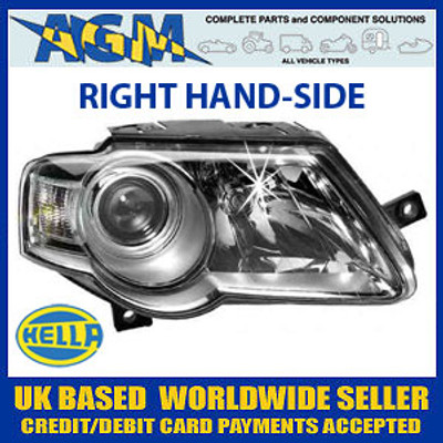 HELLA MK5 Volkswagen Passat Headlight RIGHT (2005 On)