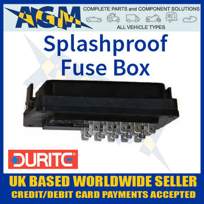 durite, 0-234-60, 023460, splashproof, blade, fuse, box
