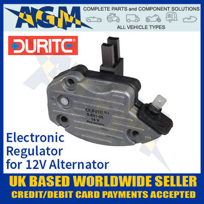 durite, 083155, 0-831-55, electronic, regulator, 12v, alternator
