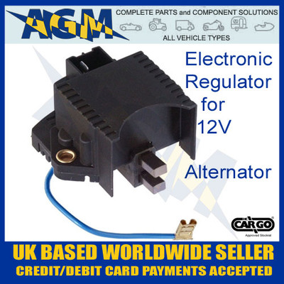 0-815-69, Electronic Regulator, 12V, Alternator, 130661Z