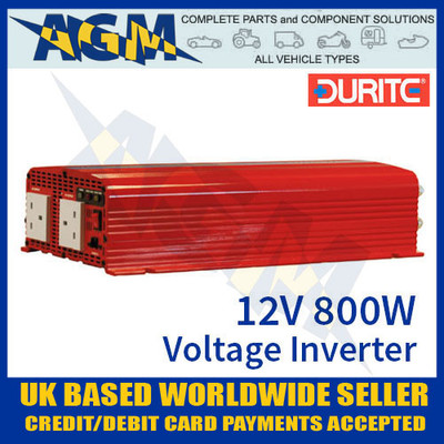 0-857-08 12V 800W Durite Sine Wave Voltage Inverter