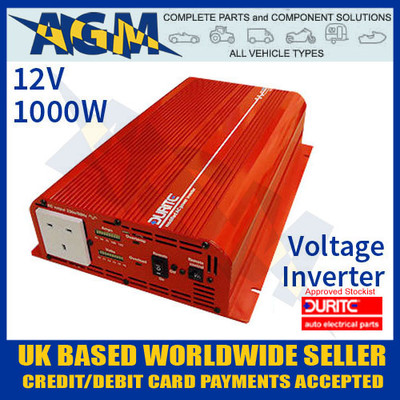 0-856-10, 085610, 12v, 1000w, durite, modifie, wave, voltage, inverter