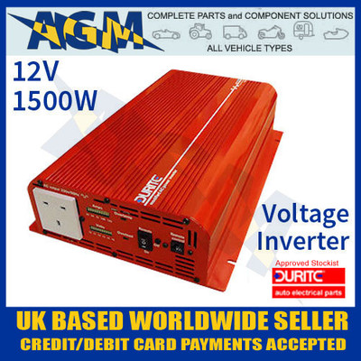 0-856-15, 085615, 12v, 1500w, durite, modified, wave, voltage, inverter