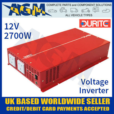 0-857-27 12V 2700W Durite Sine Wave Voltage Inverter