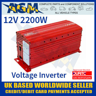 0-856-22, 085622, 12v, 2200w, durite, modified, wave, voltage, inverter