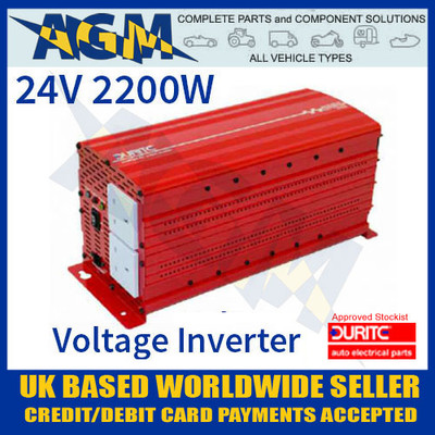 durite, 0-856-72, 085672, 24v, 2200w, modified, wave, voltage, inverter
