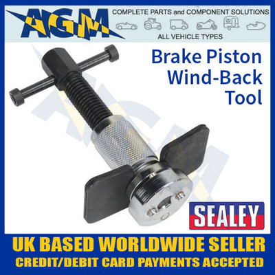 sealey, vs024, brake, piston, wind, back