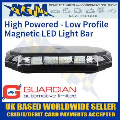 AMB114 Magnetic Low Profile High Powered LED Light Bar