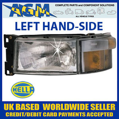 SCANIA 4 and R Series Headlamp Left Hand Side (Passenger)