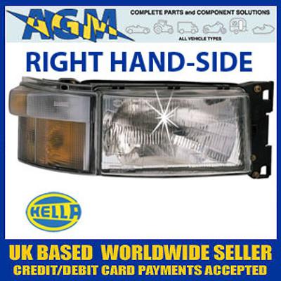 SCANIA 4 and R Series Headlamp Right Hand Side (Drivers)