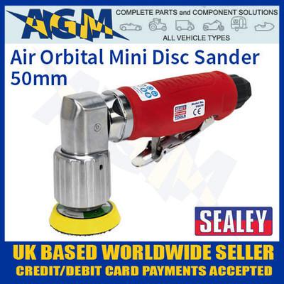gsa70, sealey, air, orbital, mini, disc, sander