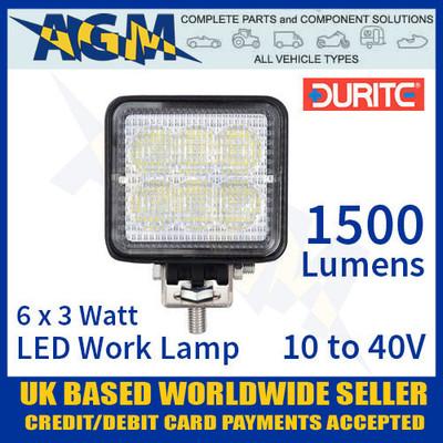 durite, 0-420-78, 042078, led, flood, work, lamp, light, 10v, 40v