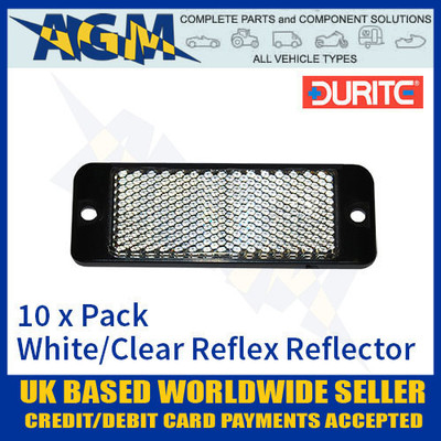 durite, 0-505-20. 050520, white, reflex, reflector