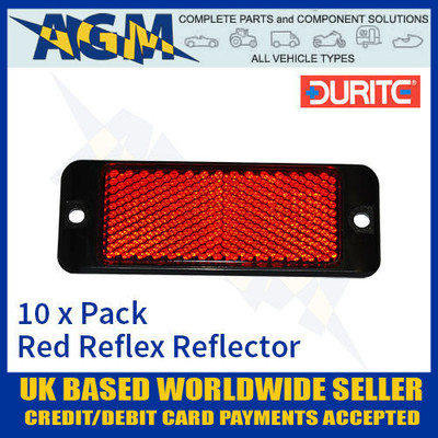 durite, 0-505-25, red, reflex, reflector