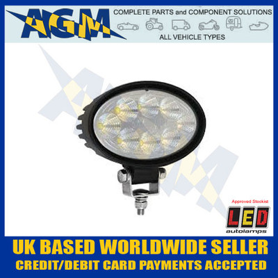 8324bm, lumens, oval, work, lamp