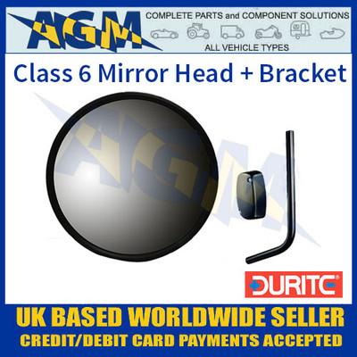 Durite 0-770-09 Class 6 Round Mirror Head