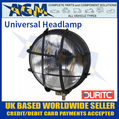Durite 0-422-00 Universal Headlamp