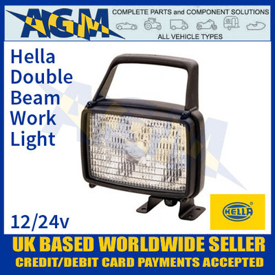 1GA 006 991-031 Hella Double Beam Work Light