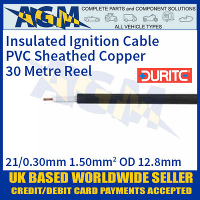 Durite 0-961-01 PVC Insulated Copper Ignition Cable