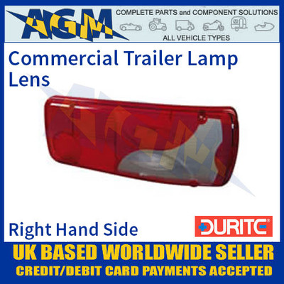 Durite 0-081-98 Commercial Trailer Lamp Lens
