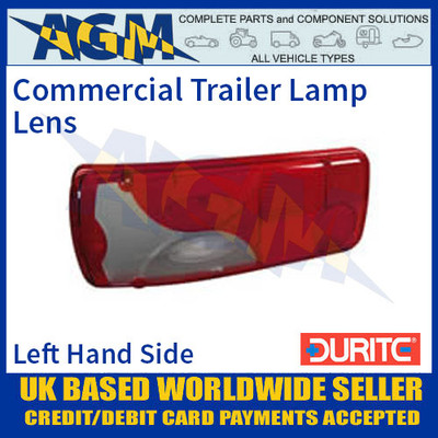 Durite 0-081-99 Commercial Trailer Lamp Lens