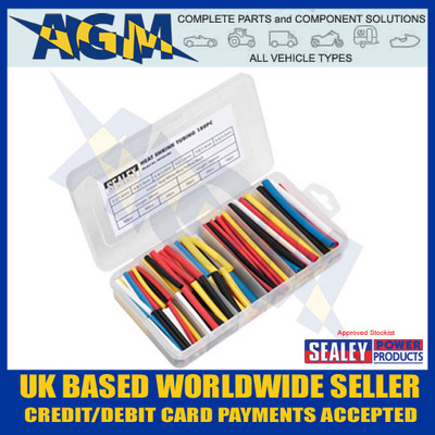 HST501MC, Sealey, 95 Peice, Heat Shrink Tubing, Mixed Colours, RoHS
