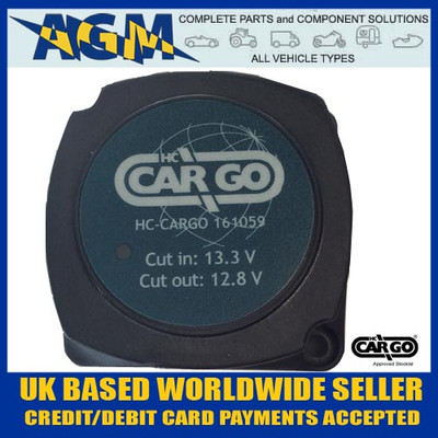 Cargo 161059 Equivalent  to 0-727-33 12V 140A Split Charge Intelligent VSR Relay