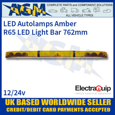 EQLB362WA LED Lighbar Amber Twin Light Module 3ft/915mm