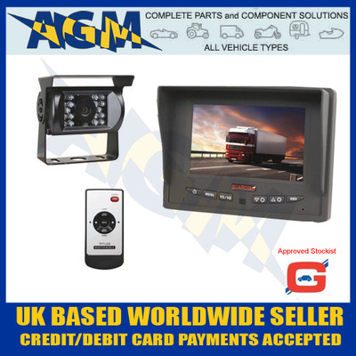 "guardian, cctv23a, cctv, reverse, reversing, camera, system, 5"", colour, screen"