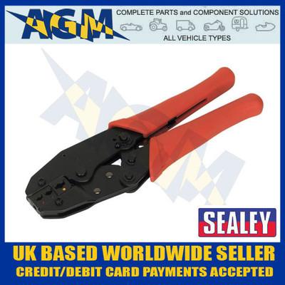 sealey, siegen, s0604, ratchett, crimping, tool