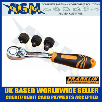 franklin, xlr123, ratchet, handle, set