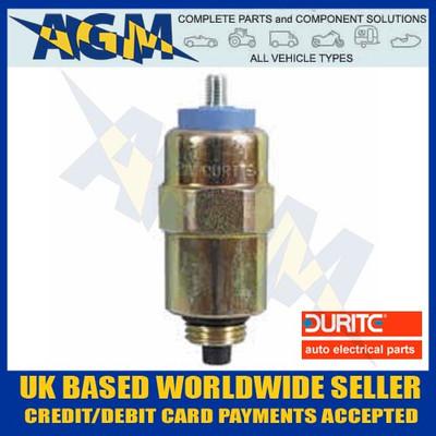 Durite 0-129-01, 12v, Diesel Stop Solenoid CAV/Roto Diesel Type