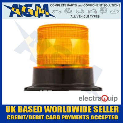 electraquip, eqpr10amb, three, bolt, r10, led, amber, beacon
