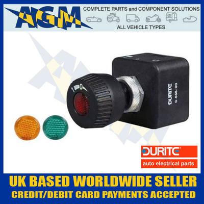 durite, 0-656-00, splash, proof, illuminated, rotary, on, off, switch