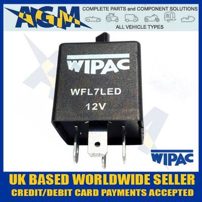 wipac, wfl7led, 4pin, led, flasher, unit
