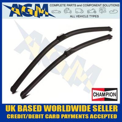 champion, afu6565b, aerovantage, front, pair, wiper, blades
